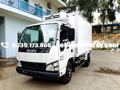 Xe tải thùng đông lạnh isuzu 1,4 tấn NLR55E